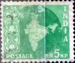 Sellos de Asia - India -  Intercambio 0,20 usd 5 n.p. 1957