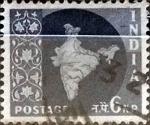 Sellos de Asia - India -  Intercambio 0,20 usd 6 n.p. 1957