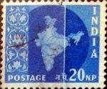 Sellos de Asia - India -  Intercambio 0,20 usd 20 n.p. 1957