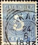 sellos de Europa - Holanda -  Intercambio cxrf3 0,20 usd 5 cents. 1890