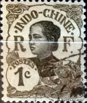 Stamps : Europe : France :  Intercambio 0,30 usd 1 cents. 1907