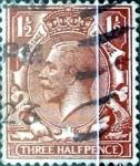 Sellos de Europa - Reino Unido -  Intercambio 1,75 usd 1,5 p. 1912