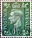 sellos de Europa - Reino Unido -  Intercambio 0,70 usd 1,5 p. 1950
