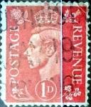 Sellos de Europa - Reino Unido -  Intercambio 0,20 usd 1 p. 1937