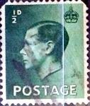 Sellos de Europa - Reino Unido -  Intercambio 0,35 usd 1/2 p. 1936