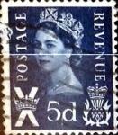 sellos de Europa - Reino Unido -  Intercambio 0,20 usd 5 p. 1967