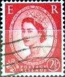 Sellos de Europa - Reino Unido -  Intercambio 1,40 usd 2,5 p. 1952
