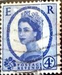 Stamps United Kingdom -  Intercambio 1,40 usd 4 p. 1953