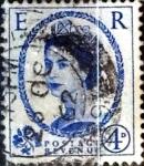 Sellos de Europa - Reino Unido -  Intercambio 1,40 usd 4 p. 1953