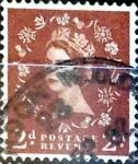 Stamps United Kingdom -  Intercambio 0,20 usd 2 p. 1953