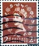 Sellos de Europa - Reino Unido -  Intercambio 0,20 usd 2 p. 1953