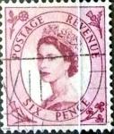 Sellos de Europa - Reino Unido -  Intercambio 1,10 usd 6 p. 1952