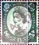 Sellos de Europa - Reino Unido -  Intercambio 3,75 usd 1 sh. 3 p. 1953