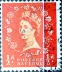 Stamps : Europe : United_Kingdom :  1/2 p. 1956