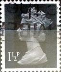 Stamps : Europe : United_Kingdom :  Intercambio 0,20 usd 1,5 p. 1971
