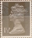 Sellos del Mundo : Europa : Reino_Unido : Intercambio 0,20 usd 1,5 p. 1971
