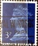 Stamps United Kingdom -  Intercambio 0,20 usd 3 p. 1973