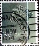 Stamps United Kingdom -  Intercambio 0,40 usd 3,5 p. 1974