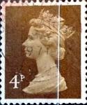 Stamps : Europe : United_Kingdom :  Intercambio 0,20 usd 4 p. 1971