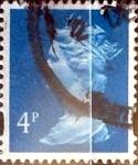 Sellos de Europa - Reino Unido -  Intercambio 0,20 usd 4 p. 1988