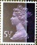 Sellos de Europa - Reino Unido -  Intercambio 0,35 usd 5,5 p. 1973