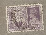 Sellos de Asia - India -  Jorge VI, Victoria