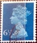 sellos de Europa - Reino Unido -  Intercambio 0,40 usd 6,5 p. 1974