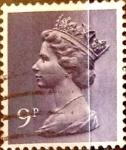 Sellos de Europa - Reino Unido -  Intercambio 0,20 usd 9 p. 1976