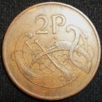 monedas de Europa - Irlanda -  1975 (Reverso)