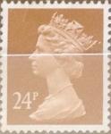 Sellos de Europa - Reino Unido -  Intercambio 0,90 usd 24 p. 1991