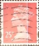 sellos de Europa - Reino Unido -  Intercambio 0,40 usd 25 p. 1993