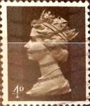 Sellos de Europa - Reino Unido -  Intercambio 0,20 usd 4 p. 1967