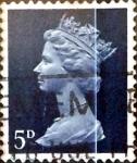sellos de Europa - Reino Unido -  Intercambio 0,20 usd 5 p. 1968