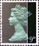 Stamps United Kingdom -  Intercambio 0,30 usd 9 p. 1967