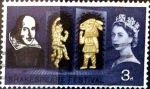 Stamps United Kingdom -  Intercambio 0,20 usd 3 p. 1964