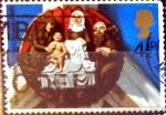 Stamps United Kingdom -  Intercambio 0,20 usd 4,5 p. 1974
