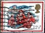 Sellos de Europa - Reino Unido -  Intercambio 0,20 usd 12 p. 1982