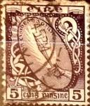 Stamps : Europe : Ireland :  Intercambio 0,40 usd 5 p. 1940