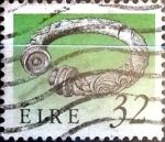 Stamps : Europe : Ireland :  Intercambio 0,75 usd 32 p. 1990