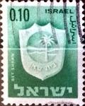 Sellos de Asia - Israel -  Intercambio 0,20 usd 10 a. 1966