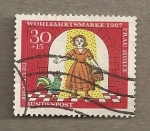 Stamps Germany -  Beneficiencia 1967