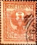 Sellos de Europa - Italia -  Intercambio 0,35 usd 2 cents. 1901
