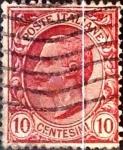 Sellos de Europa - Italia -  Intercambio 0,30 usd 10 cents. 1906