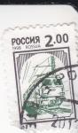 Sellos de Europa - Rusia -  ferrocarril