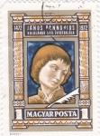 Sellos de Europa - Hungría -  Janus Pannonius- poeta