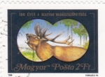 Stamps Hungary -  Alce