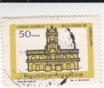 Sellos de America - Argentina -  cabildo historico ciudad de Buenos Aires
