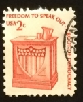 Stamps United States -  Atril