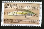 sellos de America - Estados Unidos -  Mosca de pesca