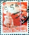 Stamps Italy -  Intercambio 0,20 usd 4 liras 1946